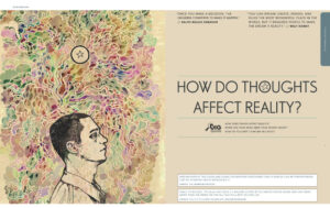 How do thoughts affect reality?