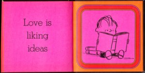 Love is liking ideas